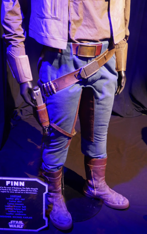 Finn costume legs detail Star Wars Rise of Skywalker