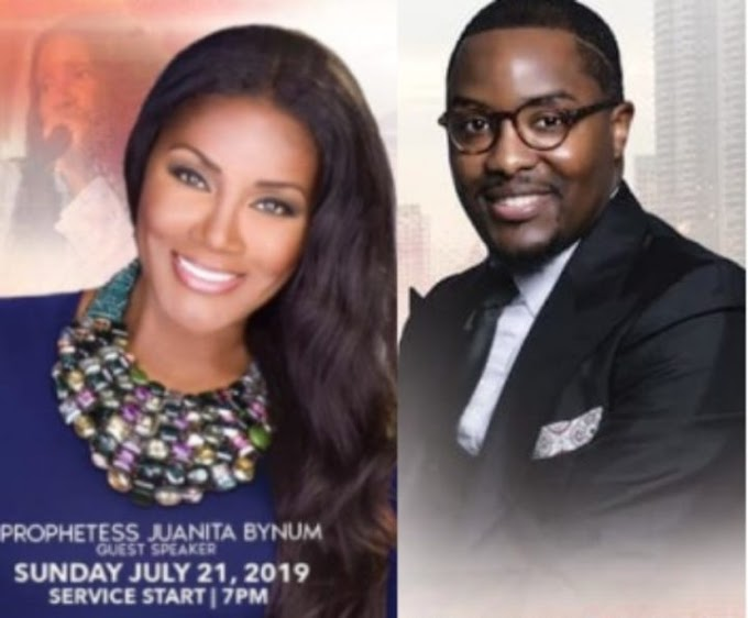 Video: Evangelist Juanita Bynum Canceled Preaching Engagement Because The Hosting Pastor John Moore Went In Her Room & Saw Her Panties
