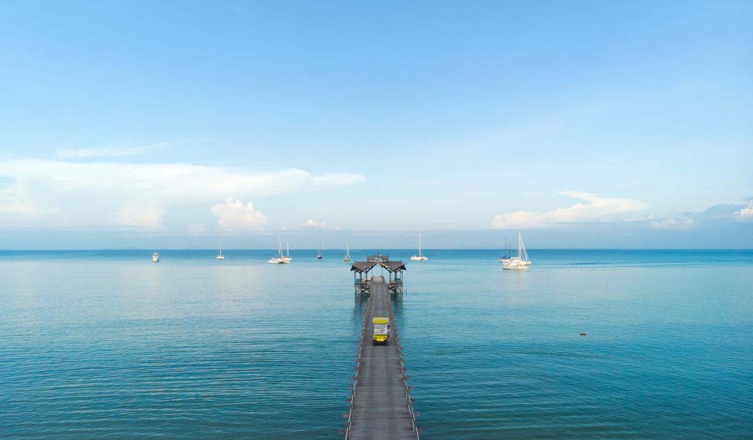 Borneo Eagle Resort for a Total Island Getaway Off the Sabah Coast, East Malaysia