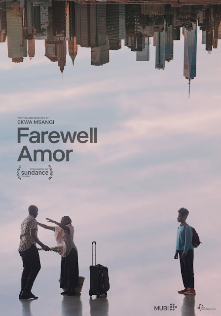 "Movie poster for Ekwa Msangi's 2020 film ""Farewell Amor"" (2020)"