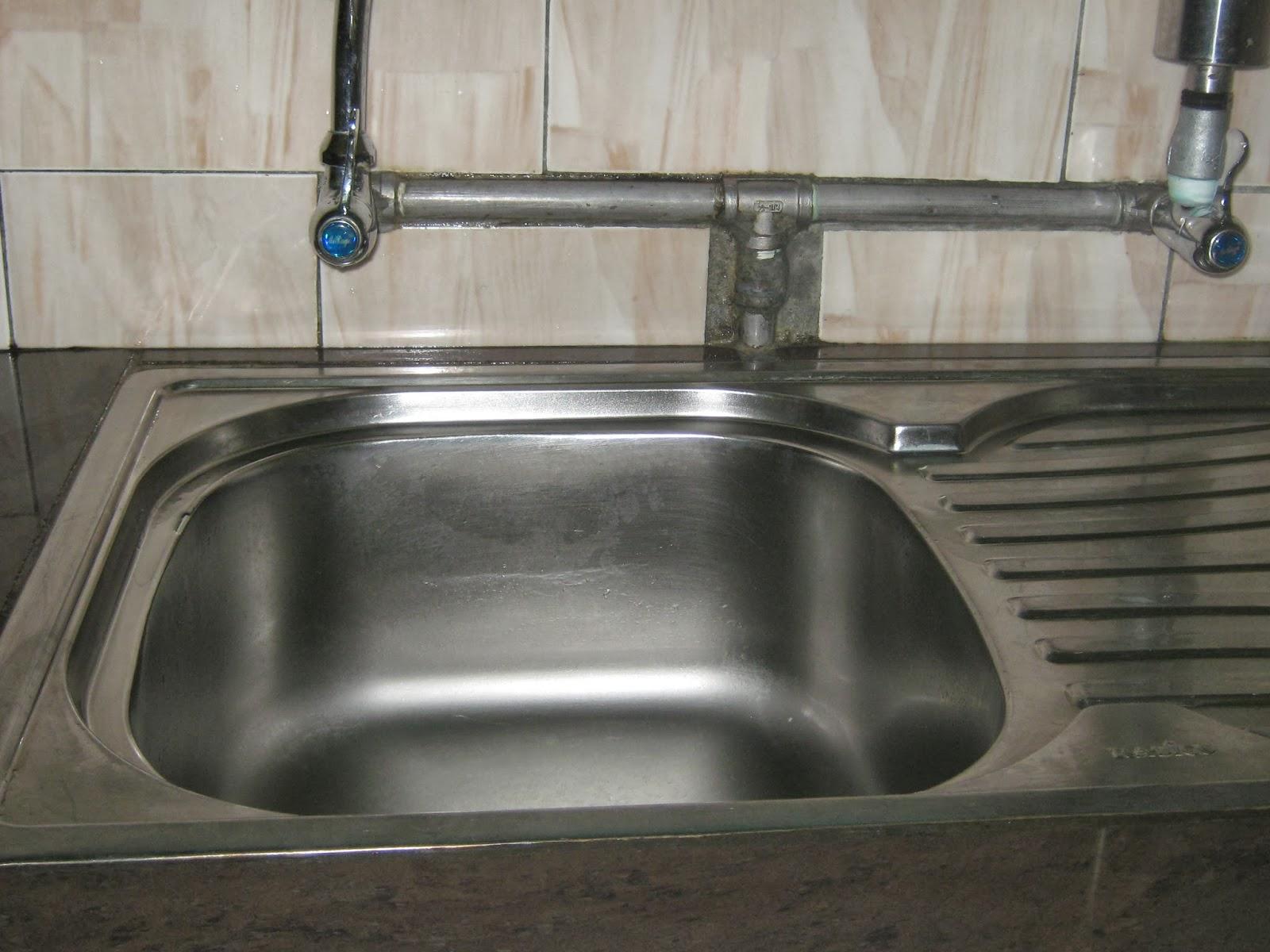 Sinki Dapur Tersumbat