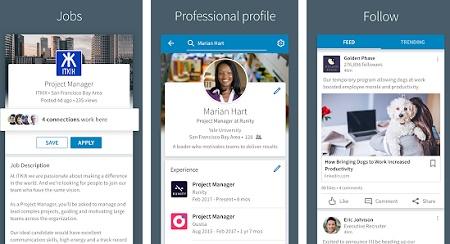 aplikasi pencari kerja iphone