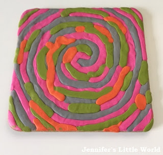 Sugru coaster craft