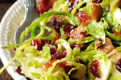 BRUSSELS SPROUT CRANBERRY SALAD SPROUT RECIPE