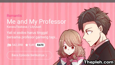 Me and my Professor Webtoon