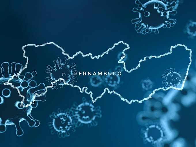 COVID-19: Pernambuco confirma 688 novos casos da Covid-19 nesta sexta