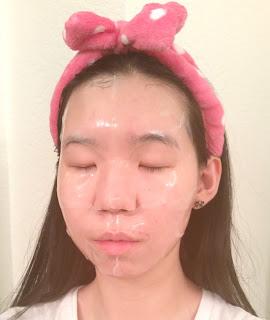 mask selfie