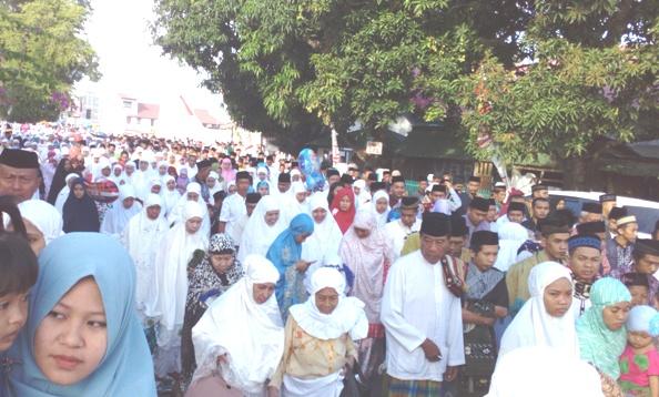 Shalat Idul Adha 1438 H, Dipusatkan Di lapangan, Pemuda Benteng