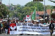 Ribuan Petani di Jember Turun ke Jalan Tuntut Reforma Agraria