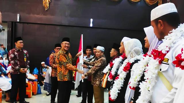 Sukses Penyeleggaraan Ibadah Haji, H. Hendri  di Apresiasi