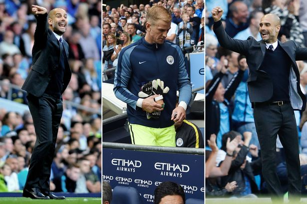 Pep Guardiola will let Joe Hart leave Manchester City