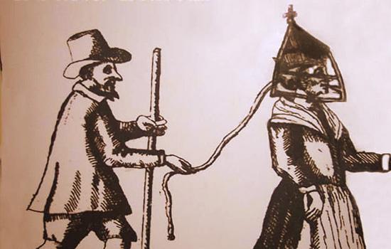 Torturas Medievais - máscara da infâmia