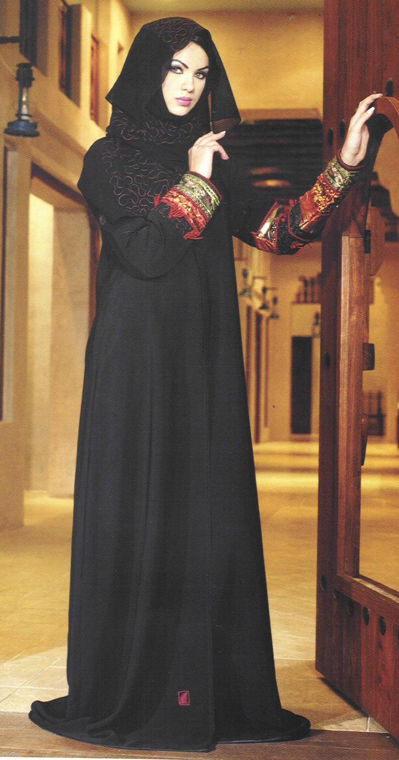 Abaya Fashion Girl  Abaya Dubai Style  Stylish Abaya -1615
