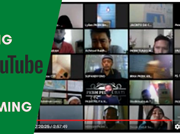 Cara Membagi Meeting Zoom ke Youtube Streaming dan Facebook Streaming