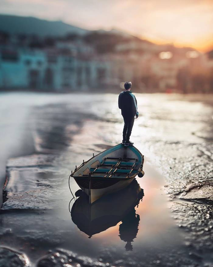 Digital photo manipulations by Sergi Tugas