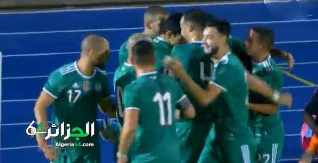 اهداف مباراة الجزائر (2-0) تونس | مباراة ودية