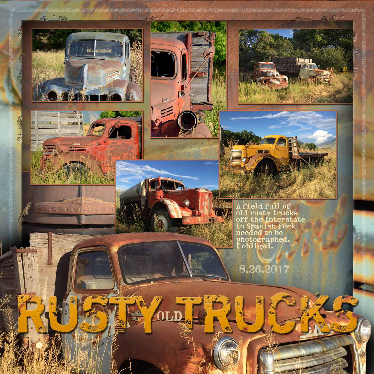 Rusty Old Trucks | StefStyle