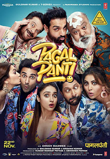 Download Pagalpanti (2019) Full Movie Hindi 720p WEB-DL