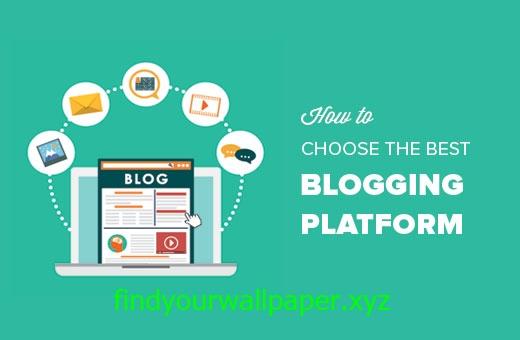 choose blogging platform- findyourwallpaper.xyz