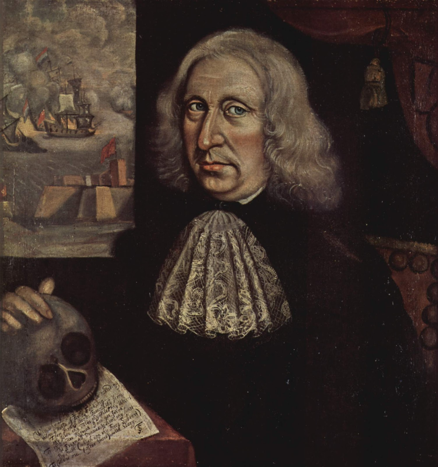Thomas Smith, Self Portrait (ca. 1690)