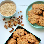 Oats Raisins Walnut Cookies Recipe | Oats Cookies | Christmas special Recipes