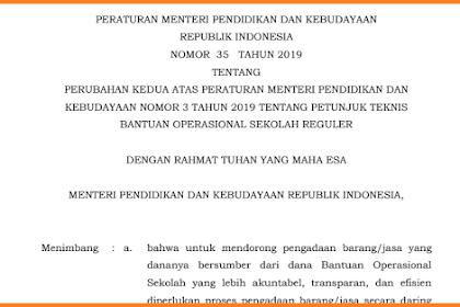 Juknis Bos 2019