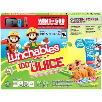 Lunchables is giving away 500 Nintendo Switch Systems with games in their instant win game and grand prize winners will get the system with 12 games!