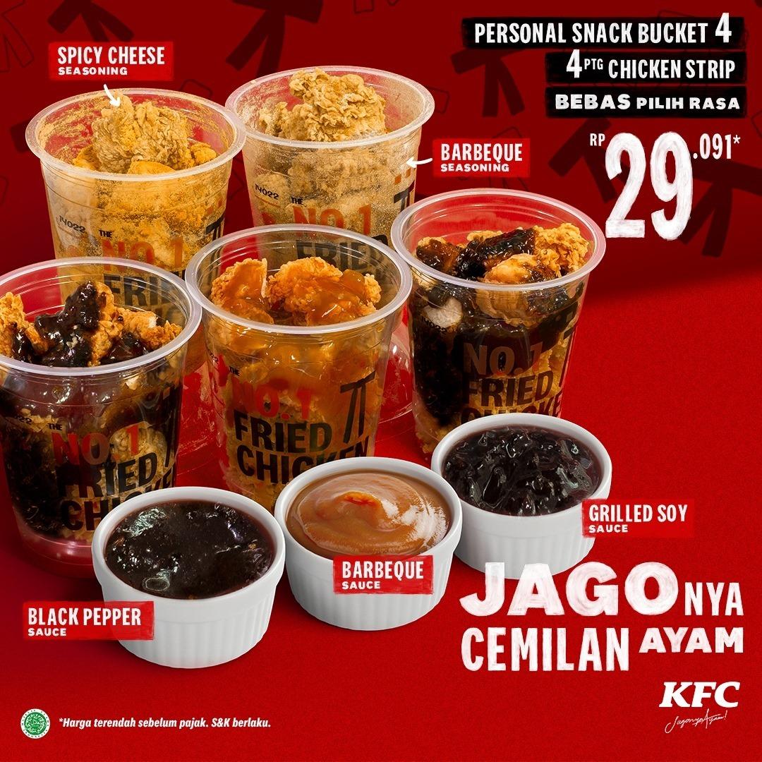Promo KFC 4 Potong Chicken Strip 29 Ribu Terbaru