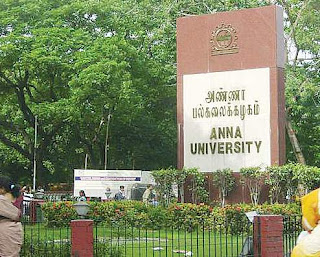 VACANT POST OF PROFESSOR IN ANNA UNIVERSITY