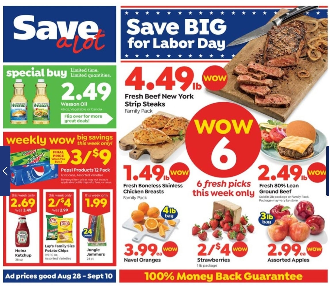 Save a Lot Ad Preview September 11 - 17, 2019