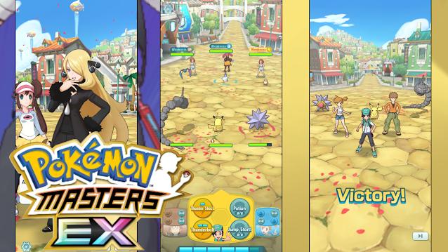 Spesifikasi dan Total Size Game Pokemon Master EX Di Android