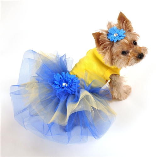 Delilah Dog Tutu Dress