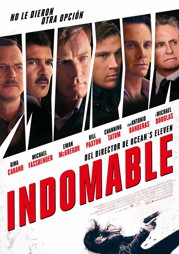 Póster: Indomable: Haywire (Steven Soderbergh, 2.011)