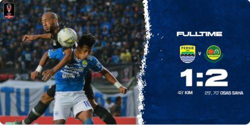Persib Bandung vs Tira-Persikabo 1-2 Piala Presiden 2 Maret 2019