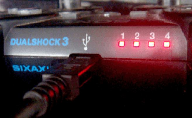 Lampu Stik PS3 Kedap Kedip