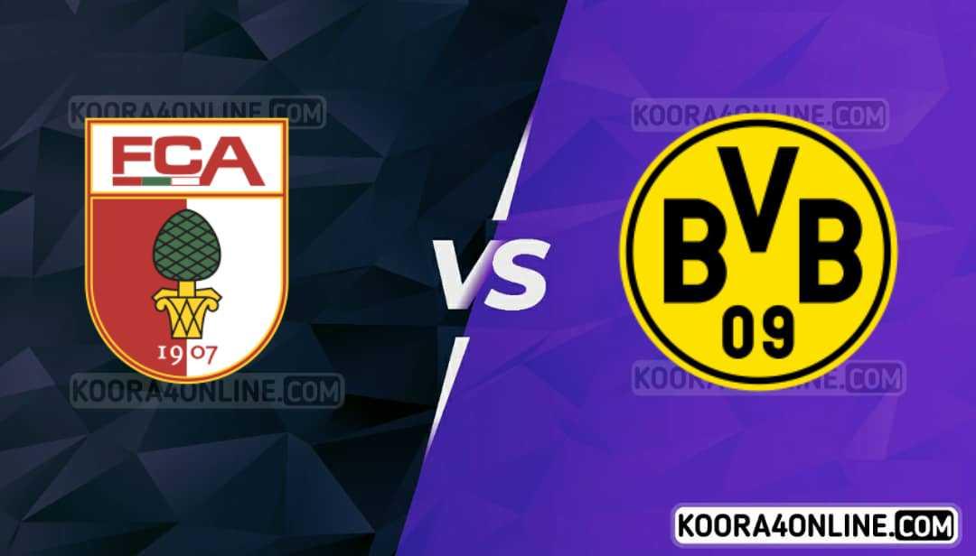 مشاهدة مباراة بروسيا  دورتموند واوغسبورغ  القادمة كورة اون لاين بث مباشر اليوم 02-10-2021 في الدوري الالماني