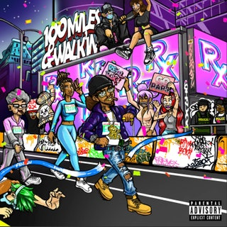 Rx Papi - 100 Miles and Walk'in Music Album Reviews