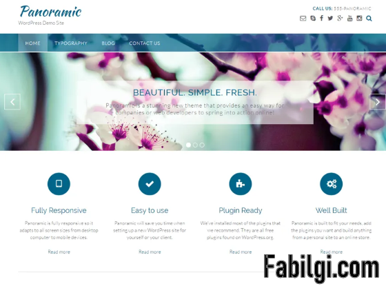 Wordpress Panoramik Görünümlü Kurumsal Site Teması İndir 2020