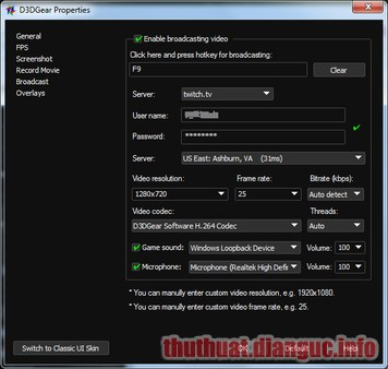 Download D3DGear 5.00 Full Crack