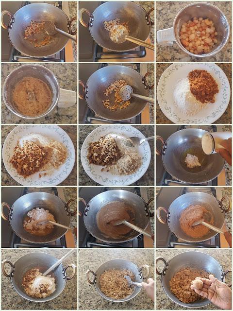 images of Atta Ladoo / Wheat Flour  Ladoo / Atta Ka Ladoo / Wheat Ladoo / Godhumai Maavu Ladoo
