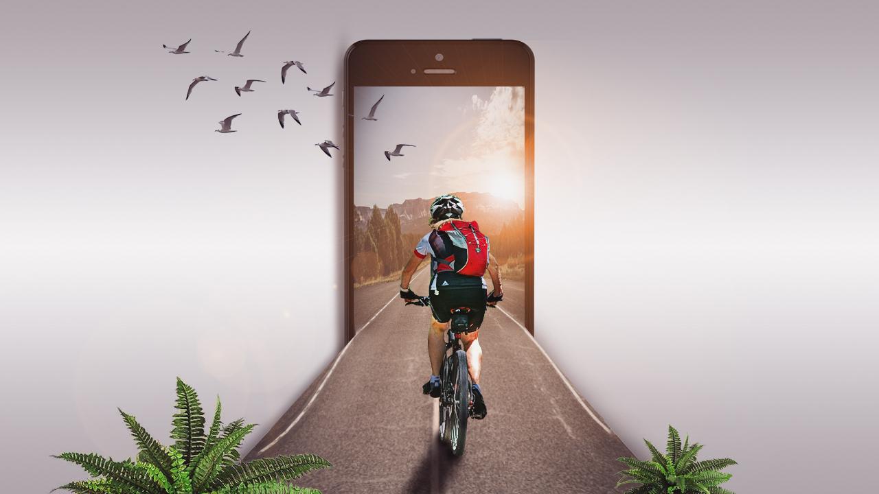 3d Mobile Effect Photo Manipulation