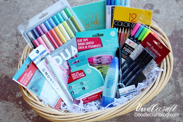 Which stocking would you love to get? Maybe you just need an entire gift basket filled with everything! Have you used Tombow supplies? What is your favorite?