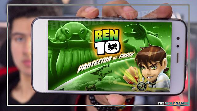 تحميل لعبة Ben 10 للاندرويد | Ben 10: Protector of Earth
