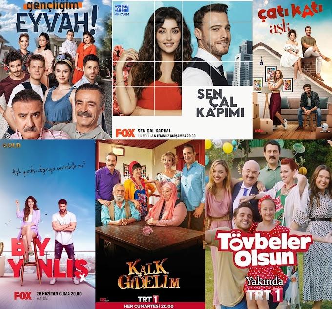 Yaz Sezonu İzlediğim Türk Dizileri (2020)