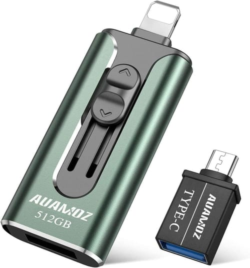 Review AUAMOZ 512GB USB3.0 Flash Drives