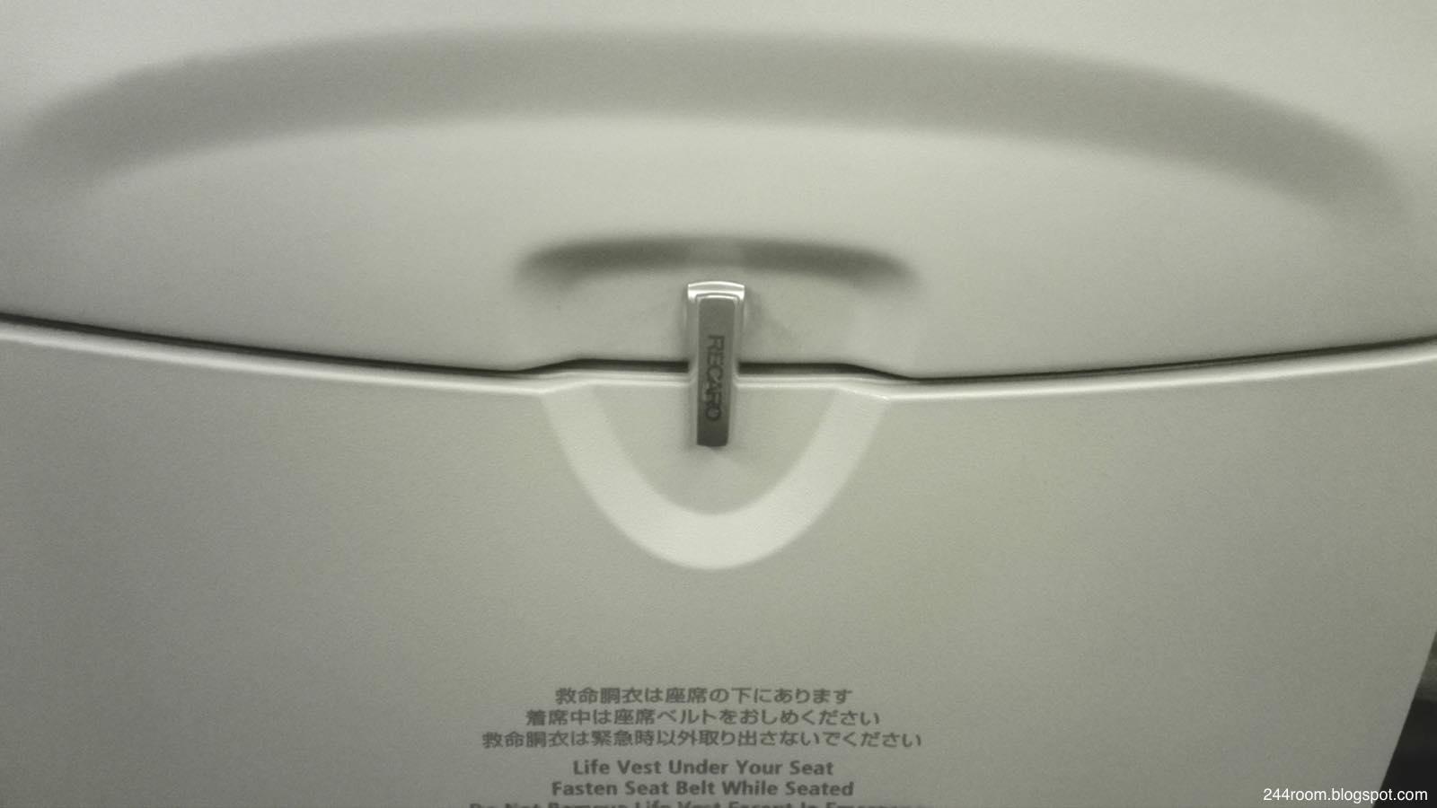 JAL737-800レカロ座席2 RECARO-Seat