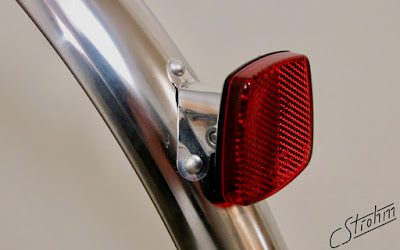 Busch und Müller rear reflector with custom mount