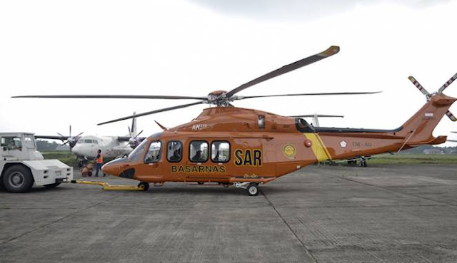 Foto - Foto Helikopter Baru Milik Basarnas