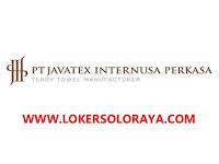 Loker Karanganyar Juni 2021 di PT Javatex Internusa Perkasa