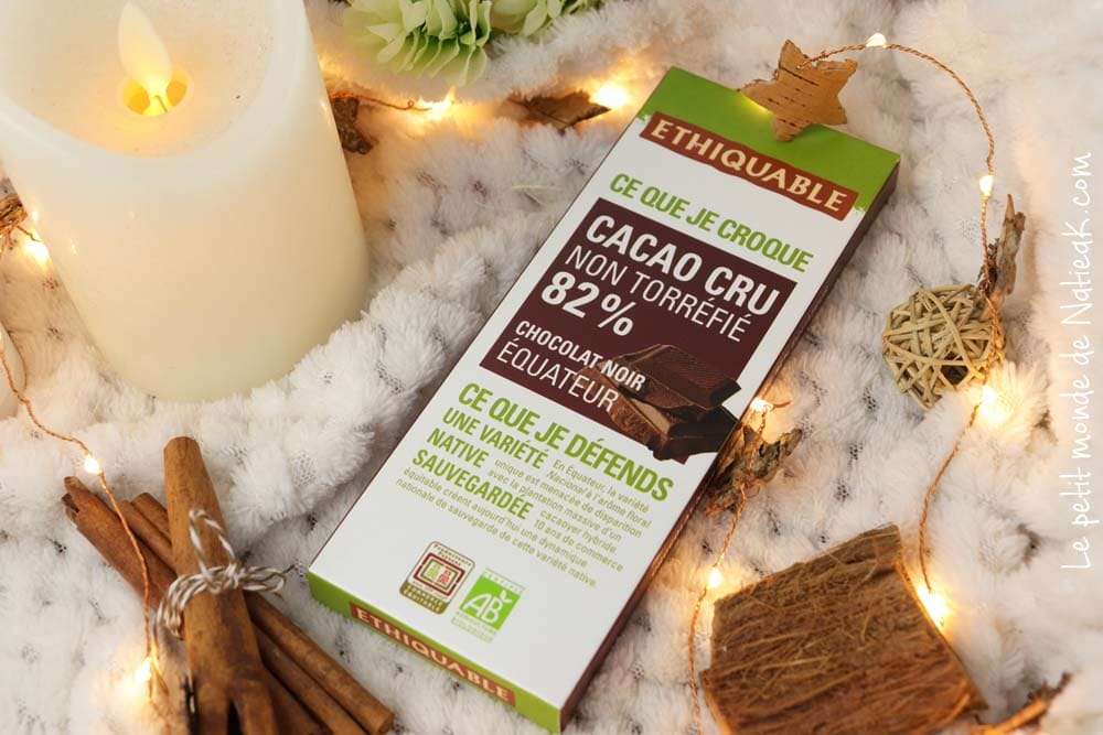 cacao cru Equateur Ethiquable